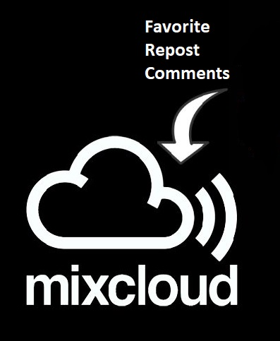 250 mixcloud favorite+ repost+comment ASAP