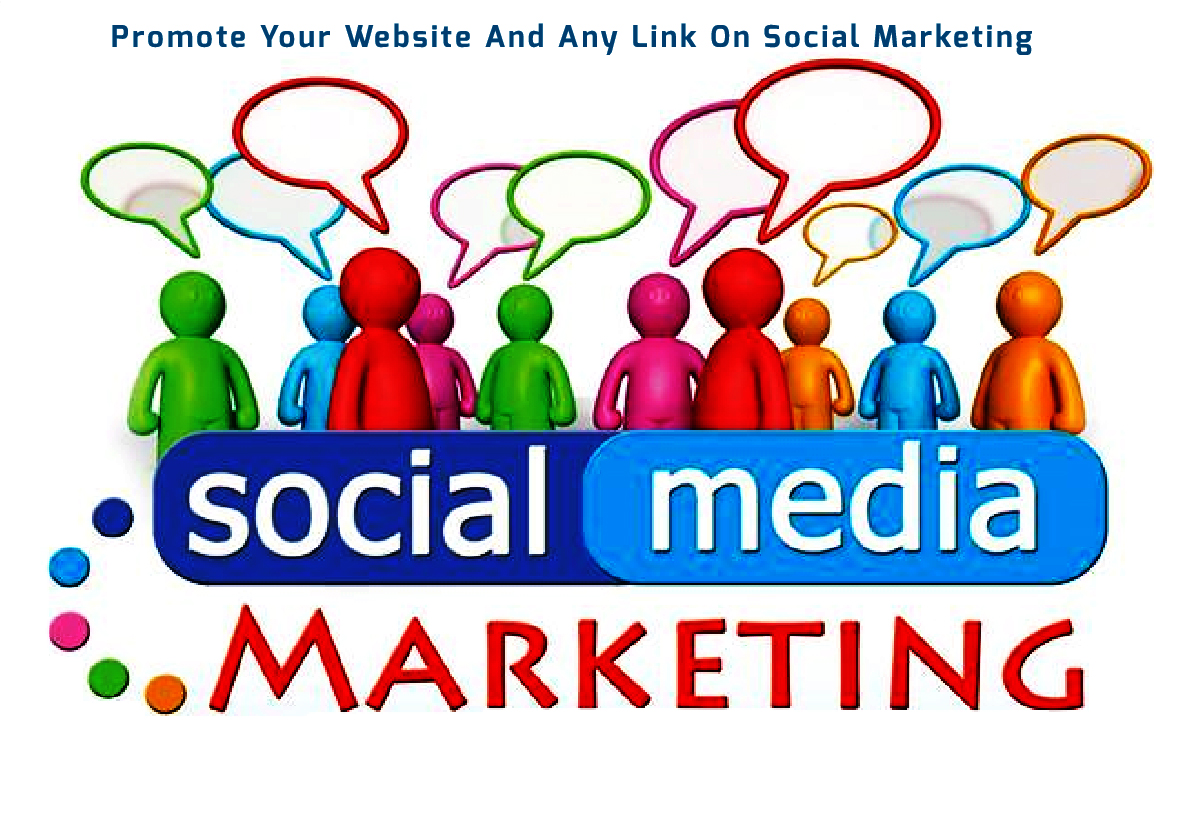 I will promote your website of Social Marketing