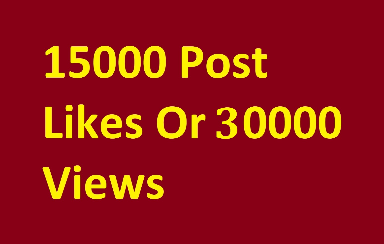 Instant start 10000 photo as or 30000 video scene promotion
