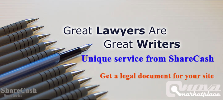 Unique legal pages document for your site or any site of any niche