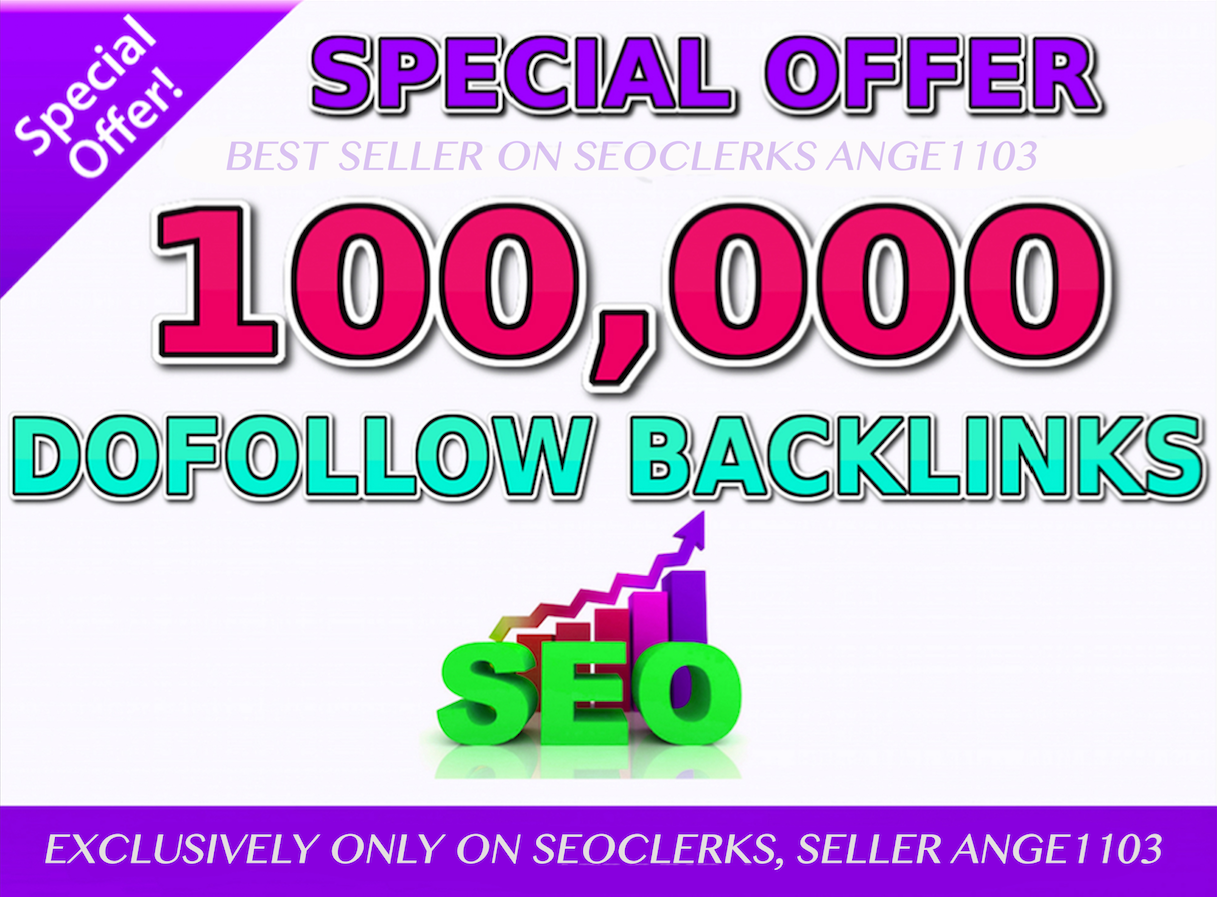 Limited Time SEO 100,000 GSA Dofollow Links for Boosting Ranking in Google SERP