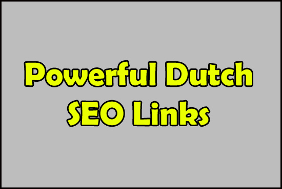 Create 40 Dutch SEO Submissions