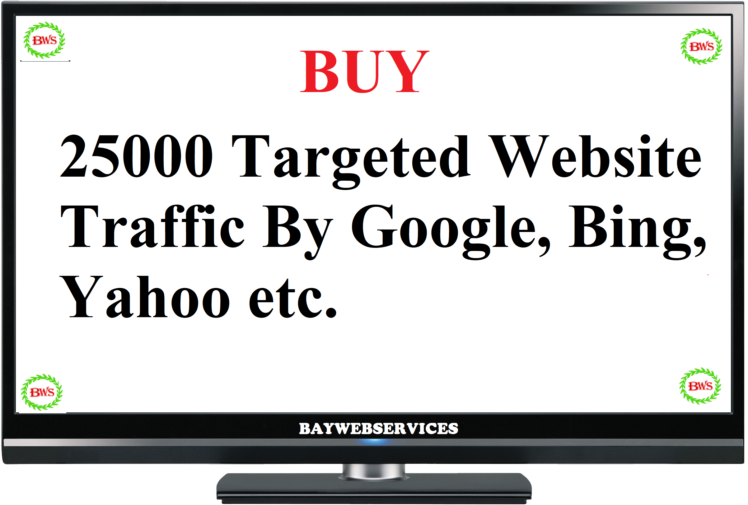 Drive 25000 USA Website Traffic From Google, Bing, Yahoo etc.