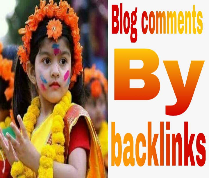 High Quality 20 unique backlinks by blog comment