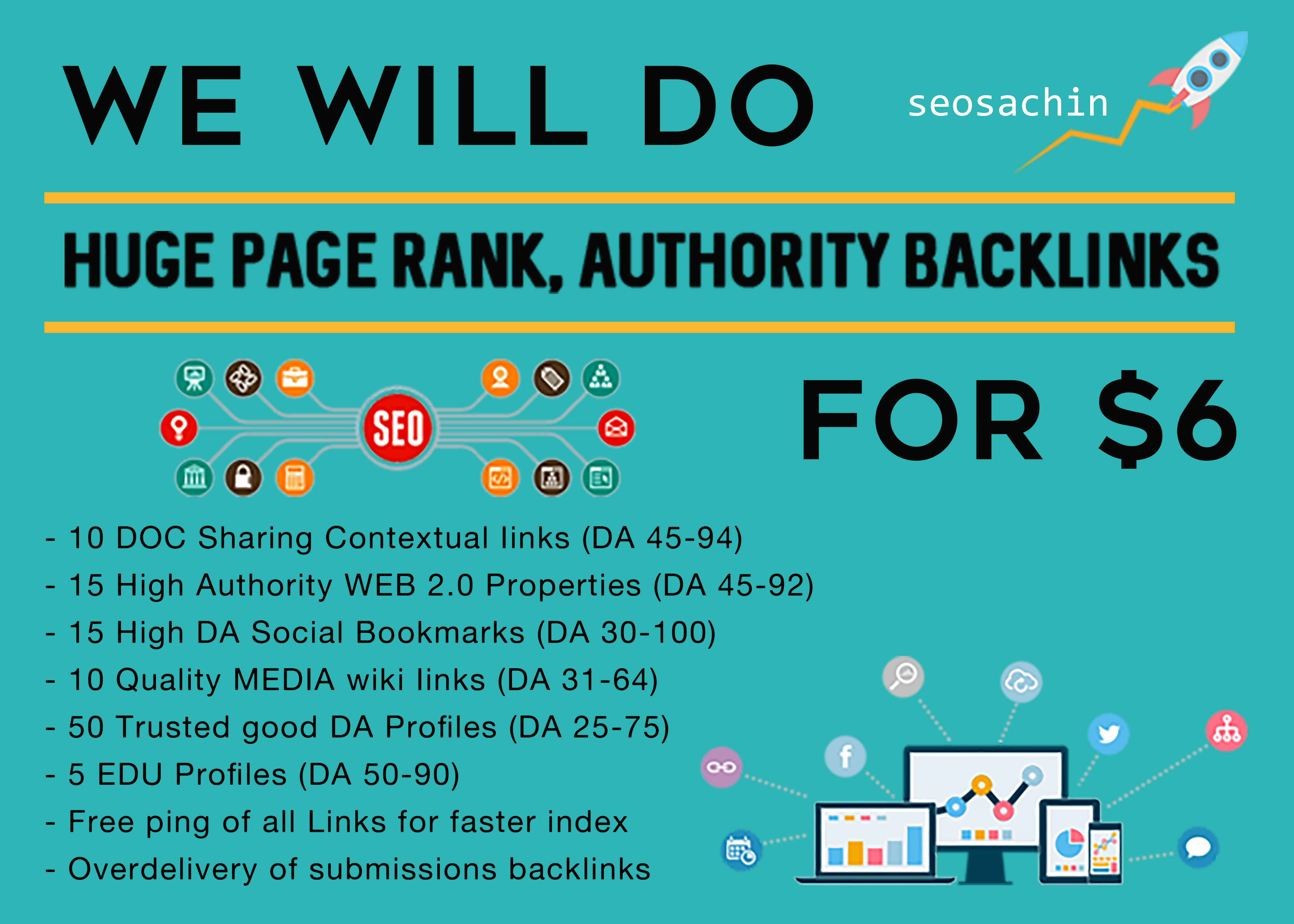 Professional SEO Linkwheel For TOP Google Rankings, High Quality Authority Backlinking Package
