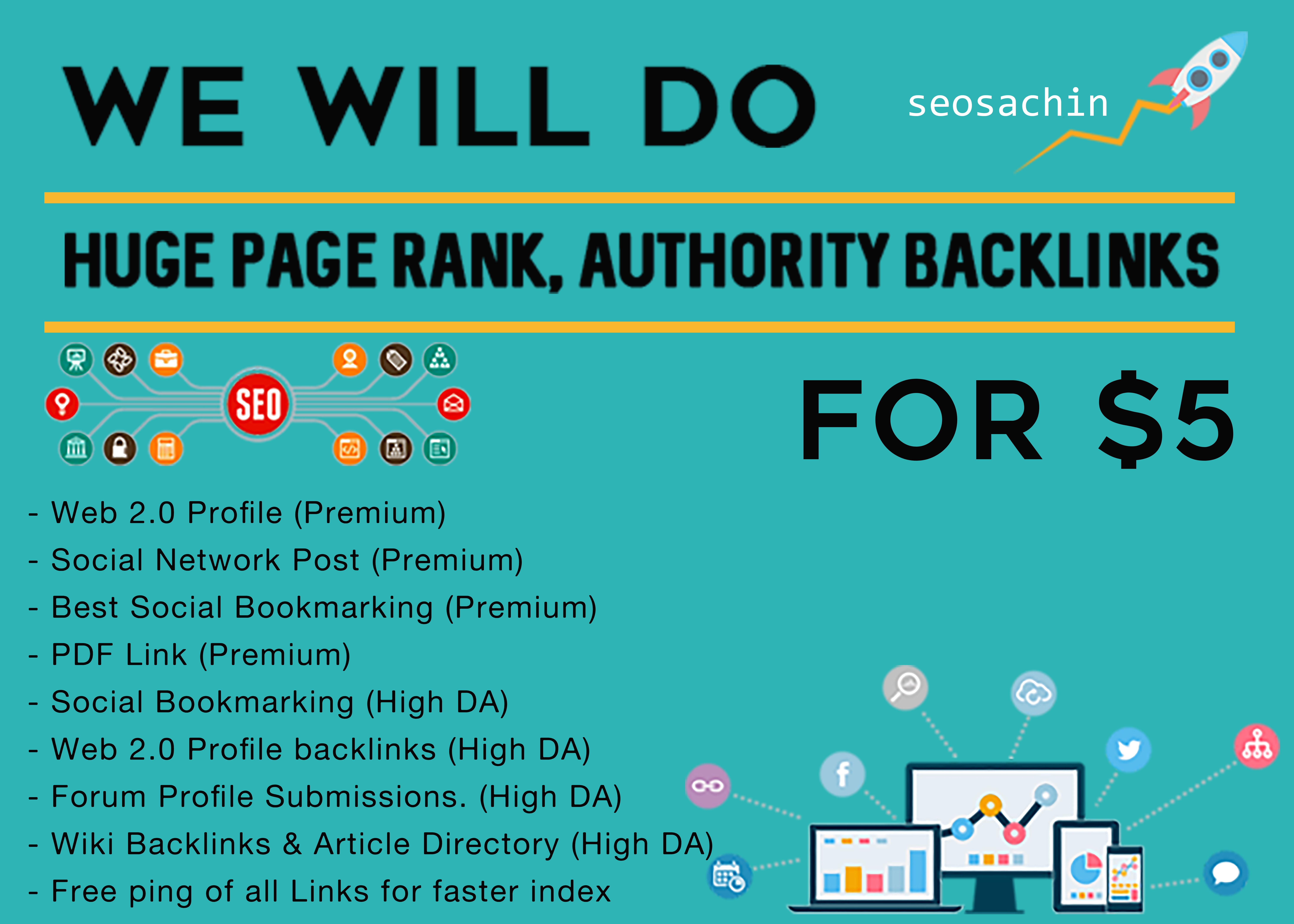 Multi-Tier Link Package, Unique SEO BackLinks on DA100 sites