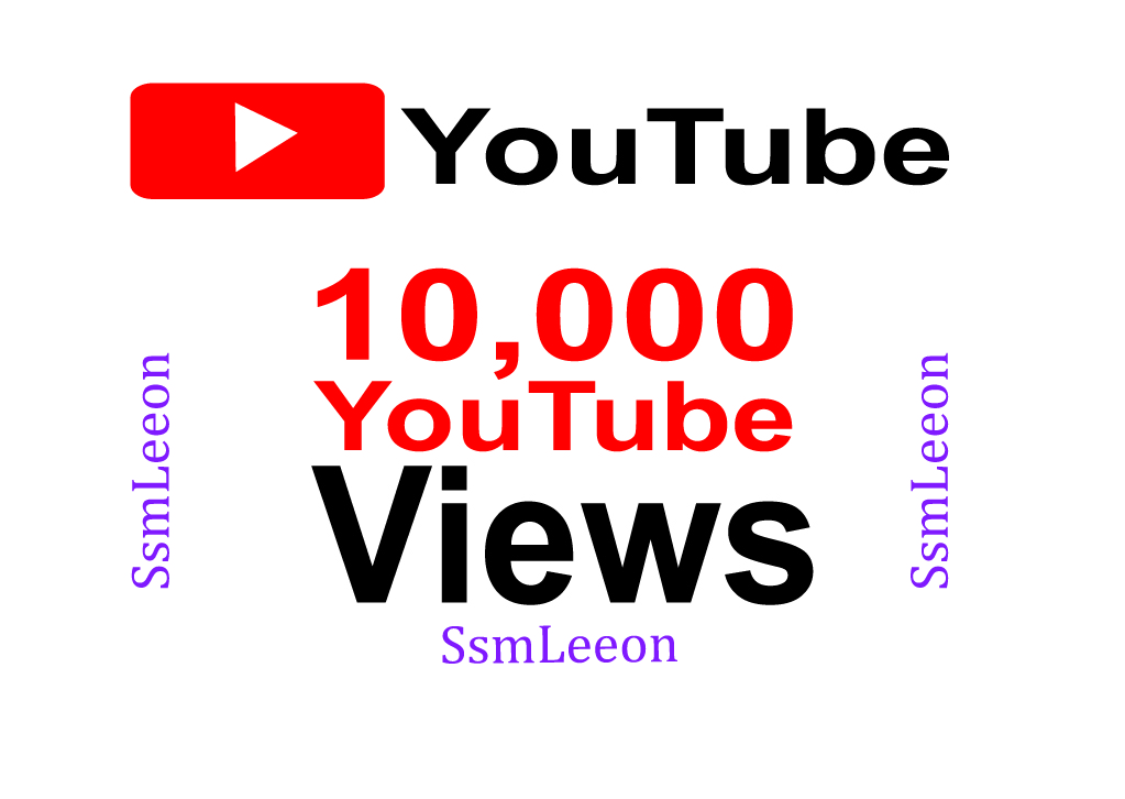Boost your  channel with 10.000 views.