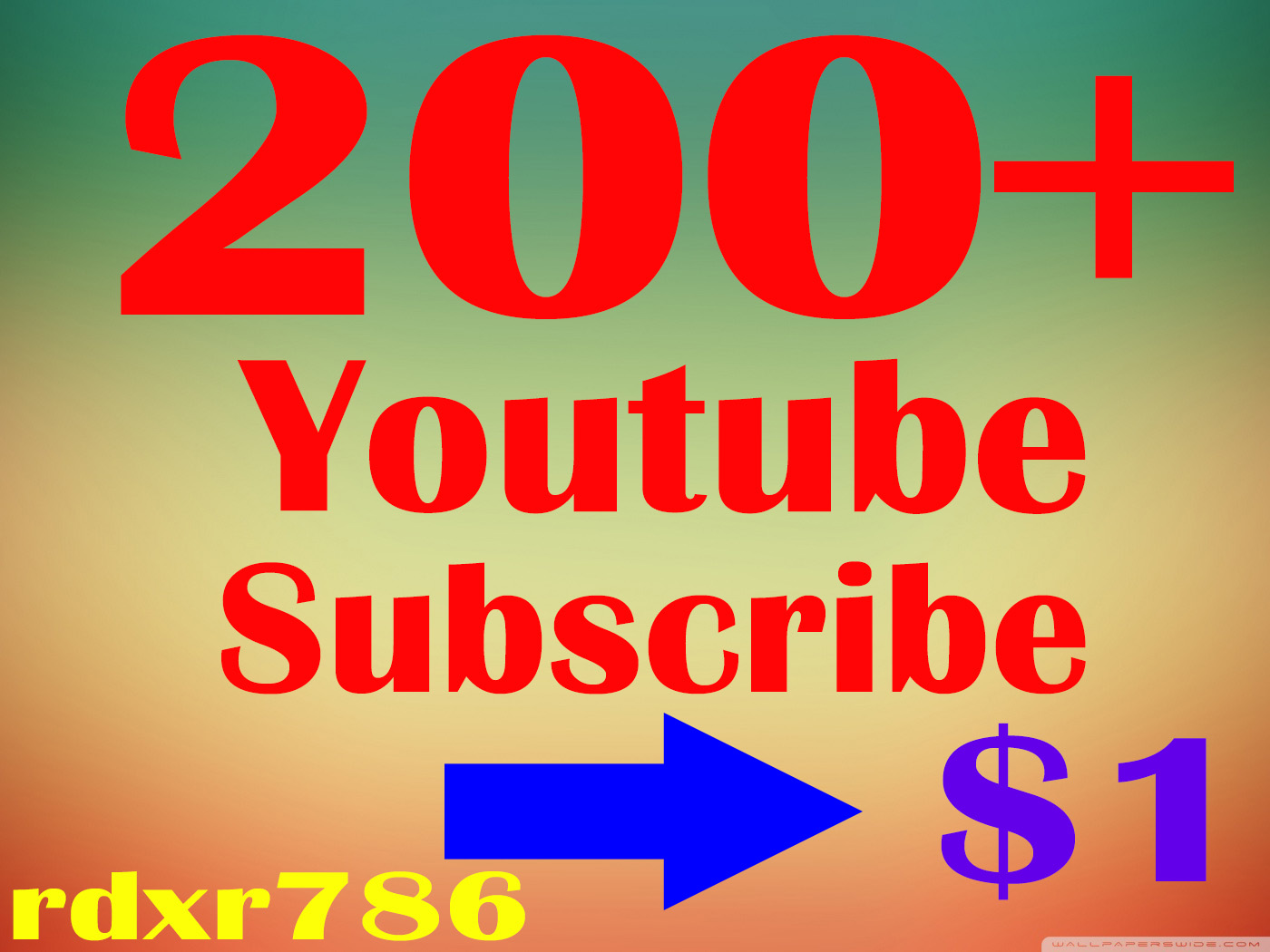 Add lifetime 200 you Tube  Subs-cribe high quality non-drop, refill guaranteed very fast 12-24 hours