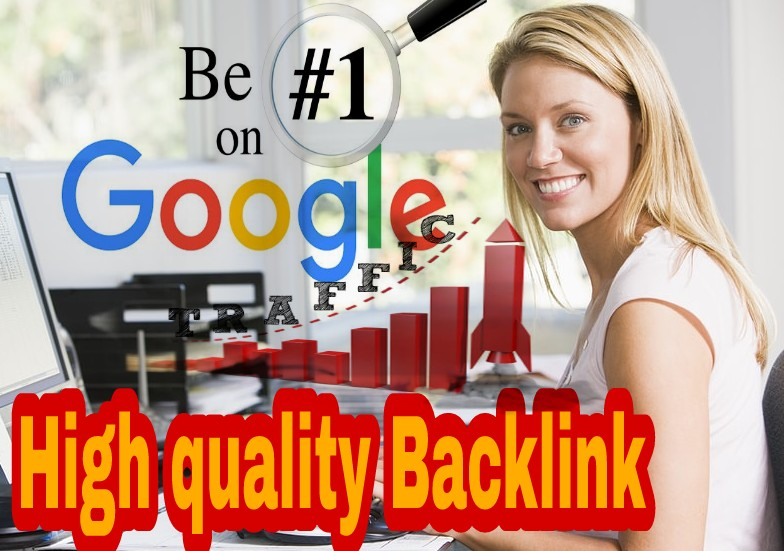 Guaranteed Google first page High Quality 100 SEO Backlink Package