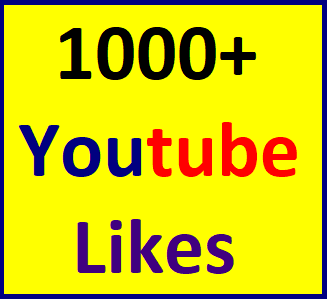 1000+You'tube video Lik'es split available within 12-24 hour in complete