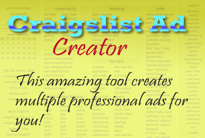 Generate Leads from Craigslist using this awesome Sof...