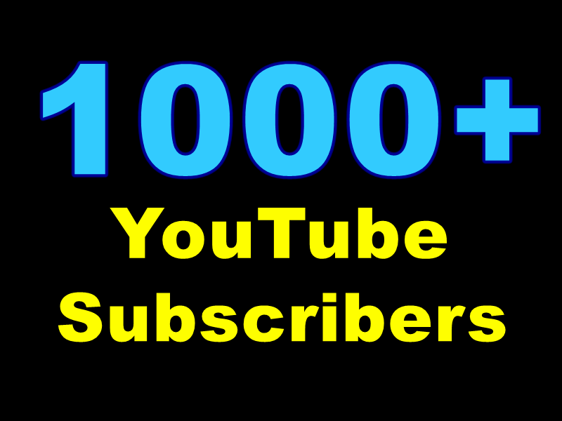 Catch 10000-15000+ Non-Drop YouTube Views Or + 1000+ YouTube Subscribers low-priced used