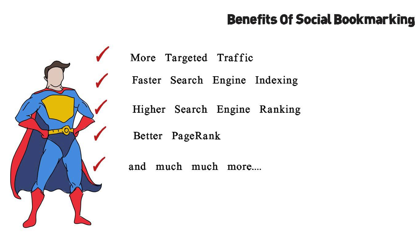 High Quality Manual Social Bookmarking Backlinks  PR 9 To 3
