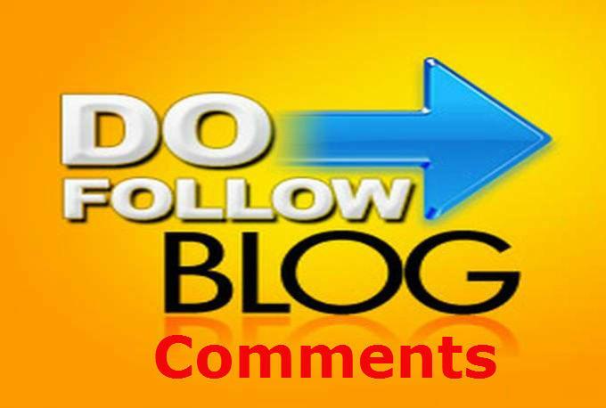 20 dofollow blog comments