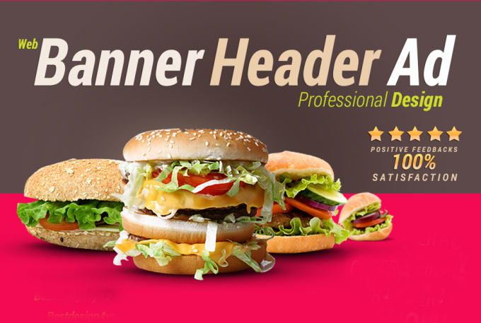Design A Professional Web Banner, Header, Ads, Cover