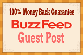 Submit Unique Content  and publish  Guest post on Buzzfeed Nofollow link