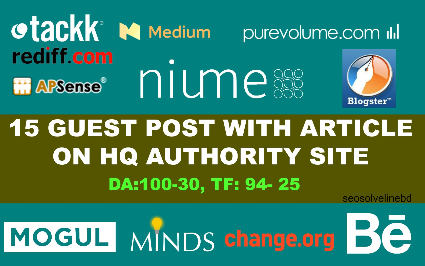 Publish Guest Post On HQ Trust Flow Dofollow High Authority Site DA 50+