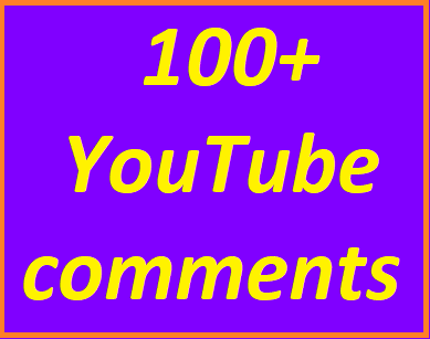 100+Youtube auto comments non drop guaranteed instant start