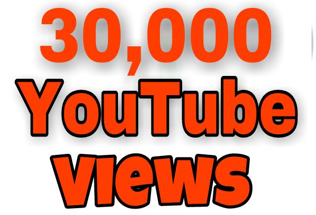 Safe 25,000 To 30,000 High Retention YouTube Views+100 Extra Likes Bonus just