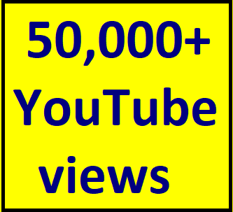 50,000 To 55,000 High Retention YouTube Vie'ws+500 Lik'es Extra Bonus Instant Start Fully Safe