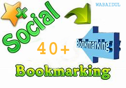40+ Social Bookmarks DOFOLLOW High PR1-PR7 Authorized Google Dominating BACKLINKS