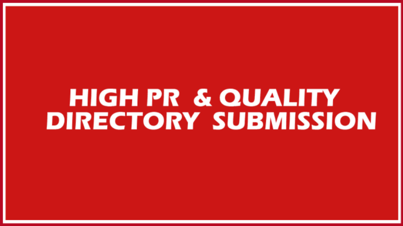 do 50 local high PR directory (USA or UK or Canada or Australia)) submit manually for your website