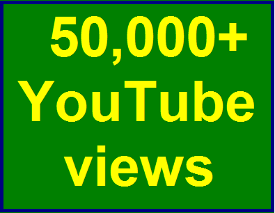 50000-60000 high quality youtube views non drop refill guaranteed within 3-6 hours complete