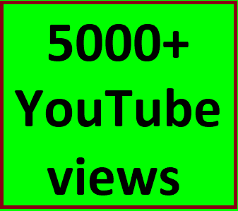 4000-5000 high quality youtube views no refill guaranteed within 3-6 hours complete