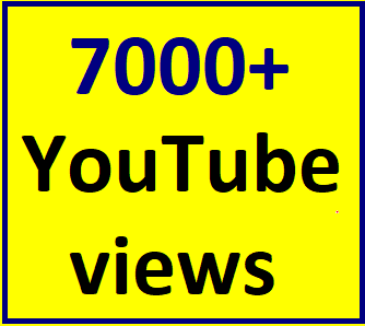 6000 To 8000 HR YouTube vie'ws non drop refill guaranteed within 12 hours complete