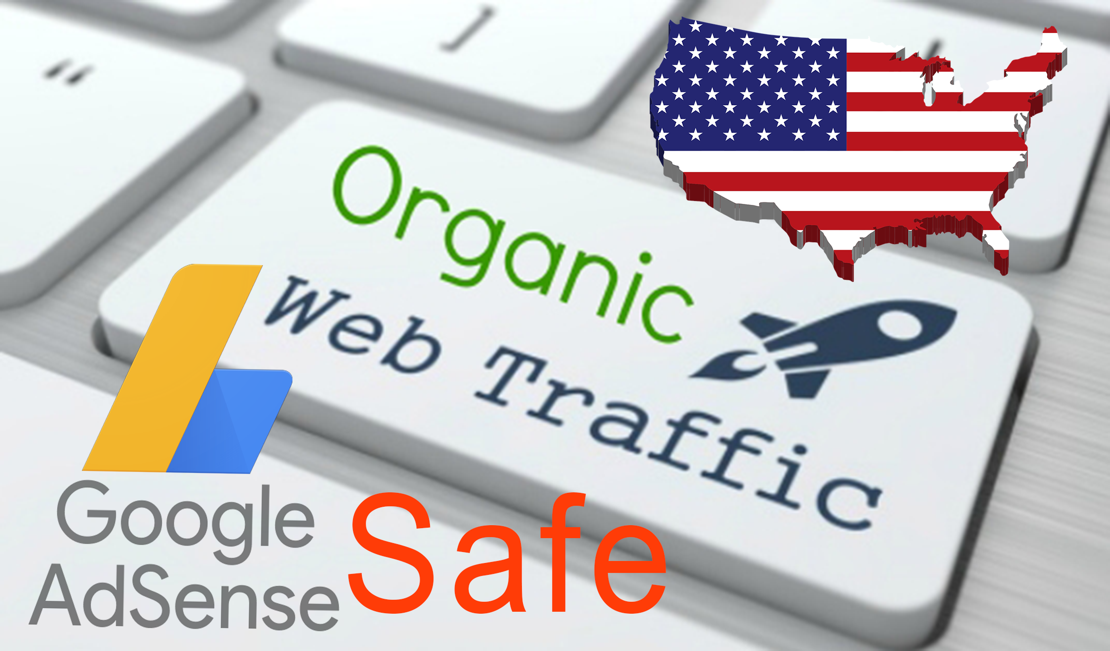 Keyword Target Organic Website Traffic From Usa, Adsense Safe