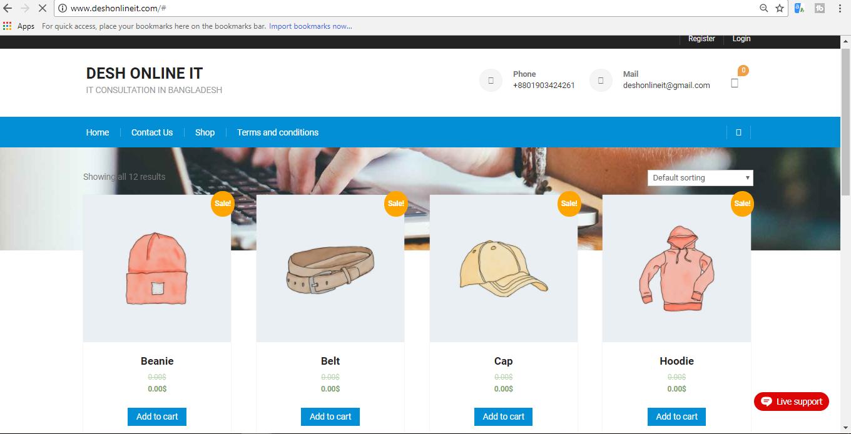 Create WordPress website with respect to buyer requirement
