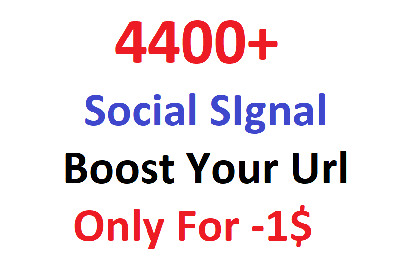 4400+ most Affective and Permanent High quality HQ PR social signal to boost you Link