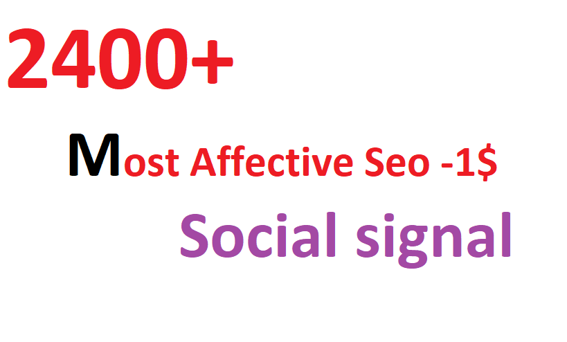 2400+ most Affective and Permanent High quality HQ PR social signal to boost you Link