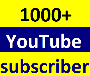 Instant start 1050+You-Tube manually subcriber non drop Just