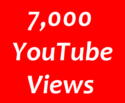 Instant start 7,000+ HR Real You tube Views non drop Refill Guaranteed in 24-96 hours completed just