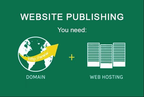 1 Year Top-Level Domain With Premium 20BG Web Hosting