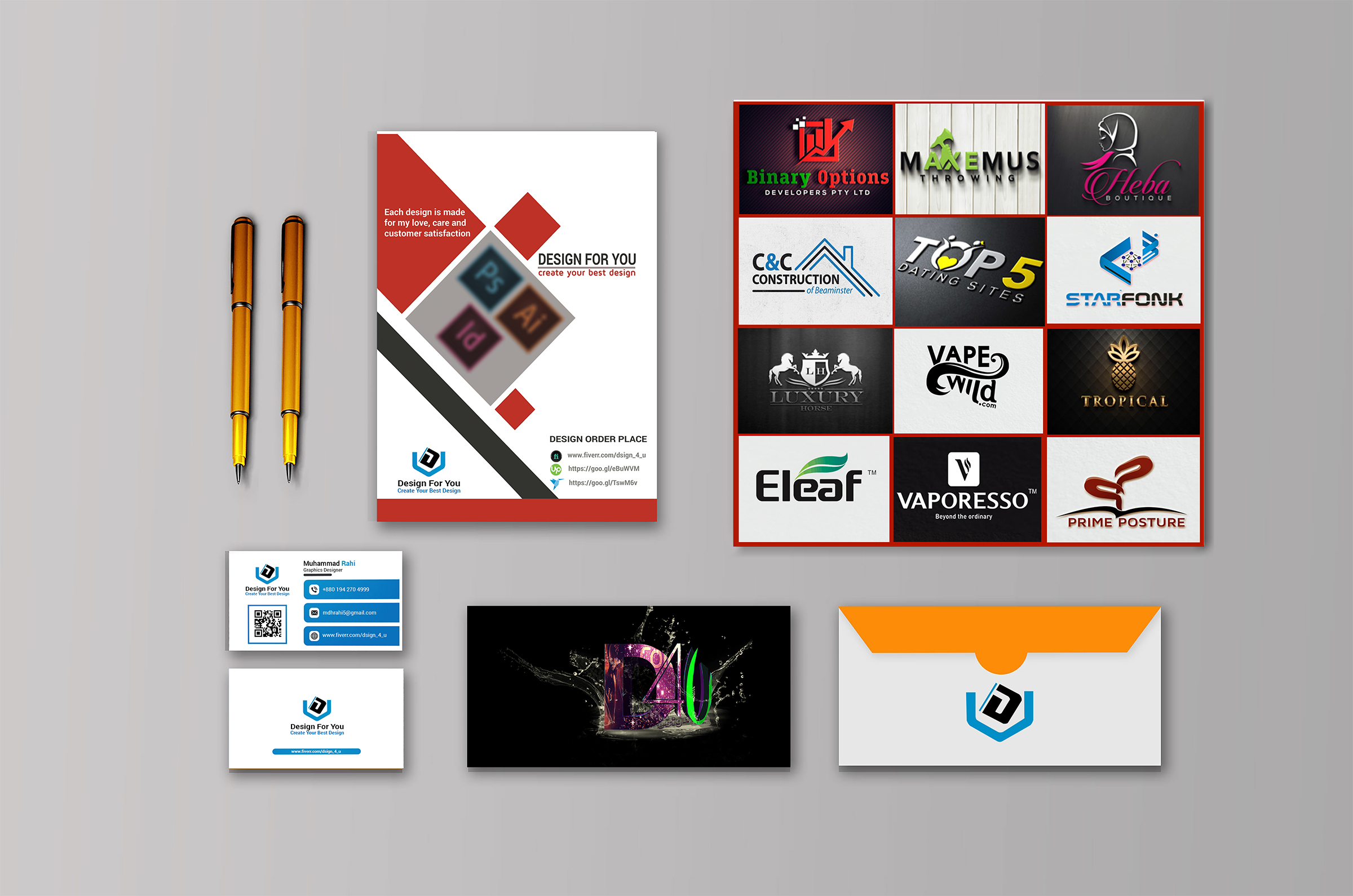 I'm Your Professional Graphic Designer. If you have need any design, Just contact me