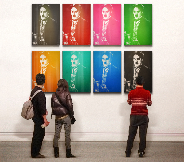 Andy Warhol  Gallery Style Picture Of You