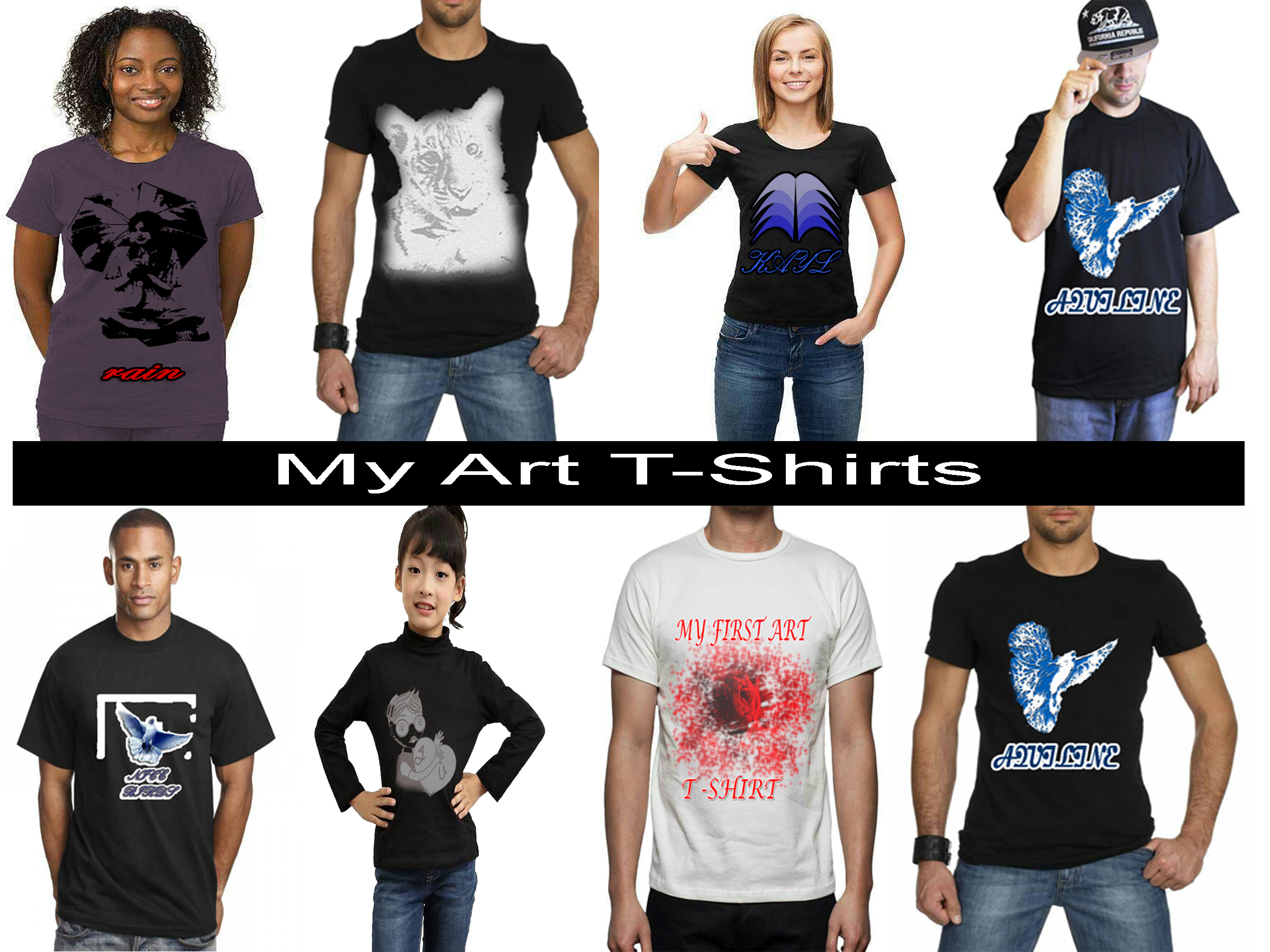 Photoshop Your Logo Or Design On Model T Shirt Or Tank Top.Design Wonder T Shirts Design
