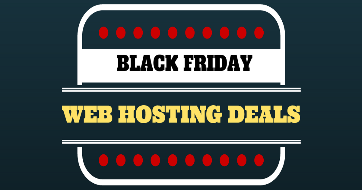 Give you Black Friday Hosting Coupons and Up to 83 Percent Off