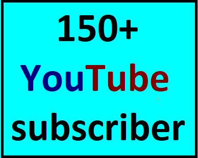 150+YouTube real and active sub non drop Lifetime guaranteed instant start