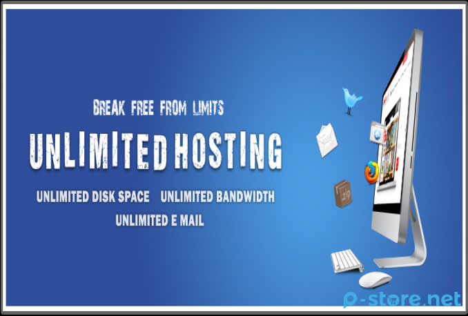 Unlimited Web Hosting SSD cPanel, Server USA (1 Year)