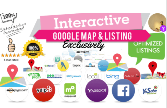 best local listing or map listing