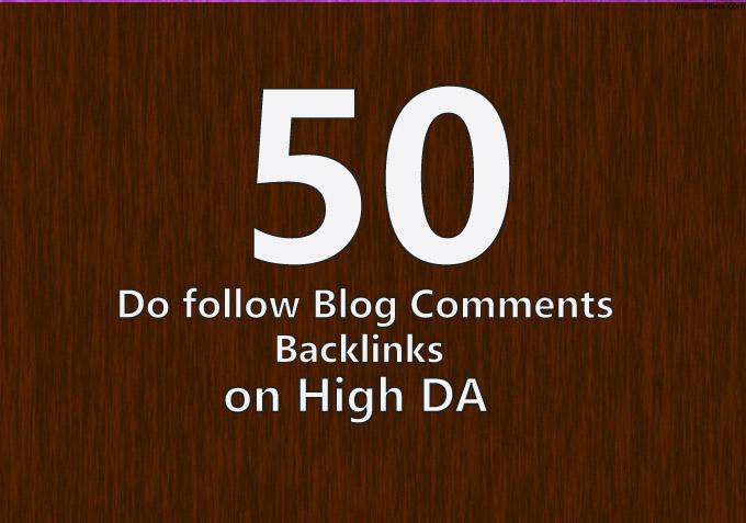 manually create 50 backlinks