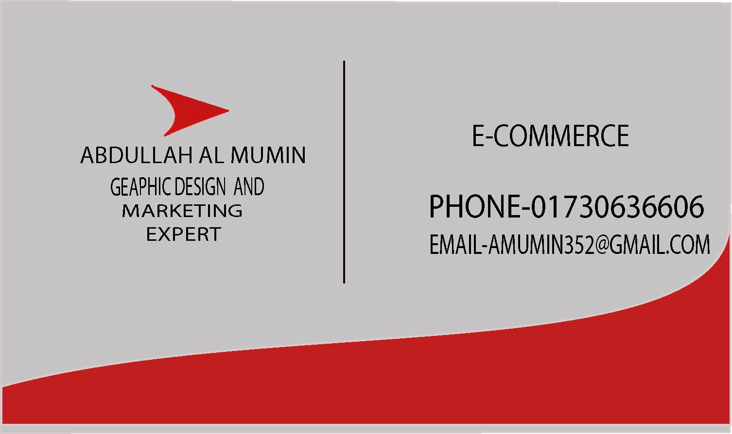 do business card design for you