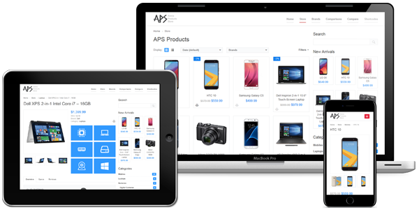Configure and Setup APS Arena Product Store WordPress Plugin
