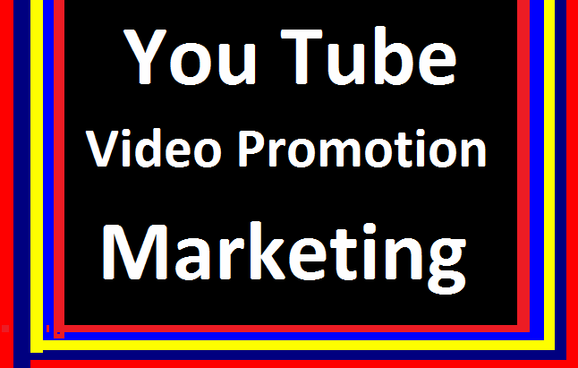 YouTube Video Marketing & Social Media Promotion