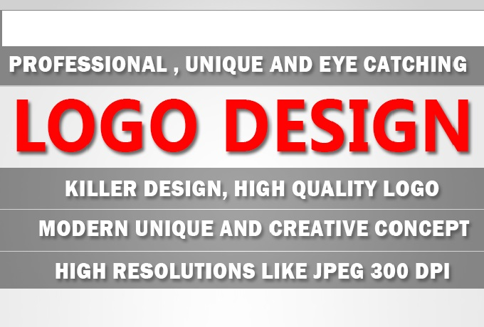 design a professional , unique and eye catching logo
