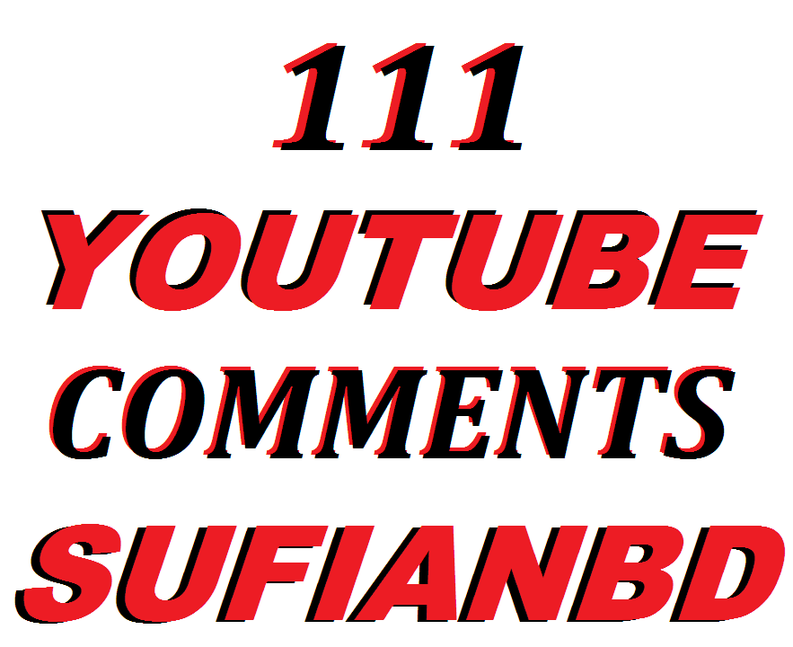 111 YouTube Custom Comments In Your Video