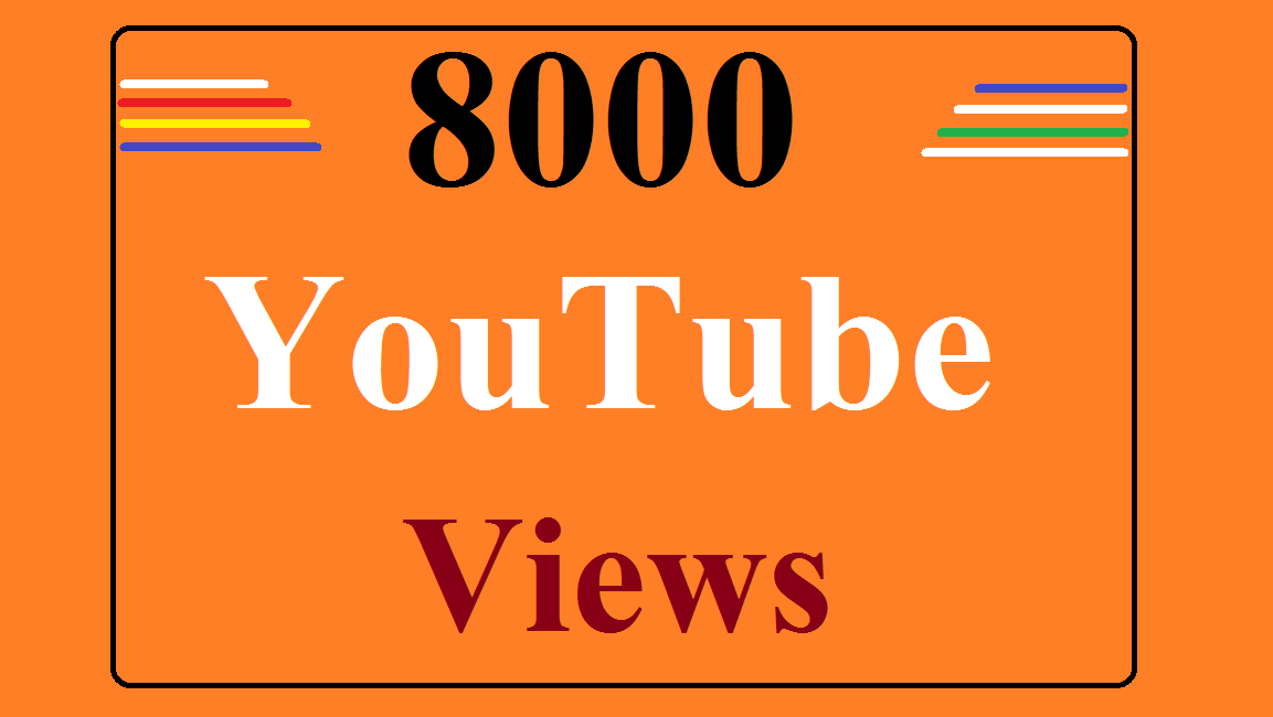 5000 High Quality YouTube Views refill Guarantee Fast Delivery